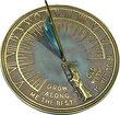 Father Time Garden Sundial