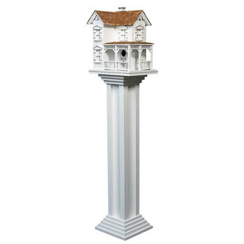 posts and brackets for bird houses
