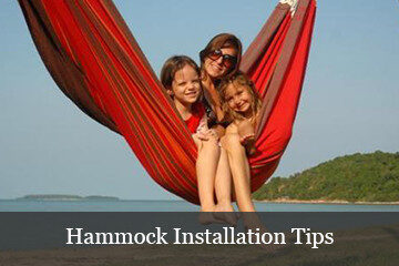 How to hang a hammock -advice from the pro's!