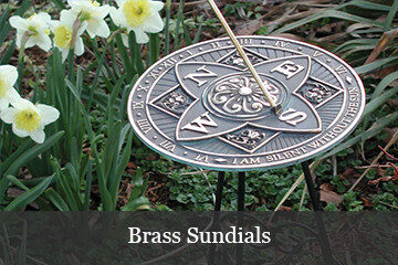 Tell time with a sundial in the garden!