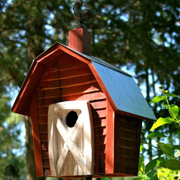 recycled bird house