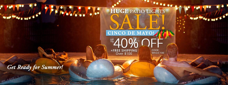 The Great Patio Light Sale!