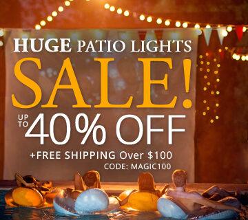 Huge Patio Lights Sale!
