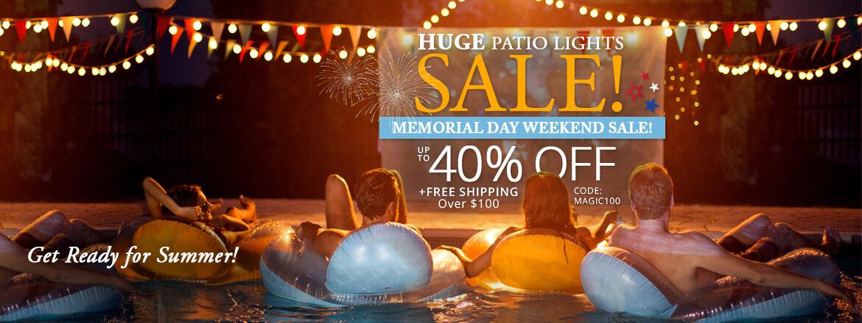 Memorial Day Weekend Sale!