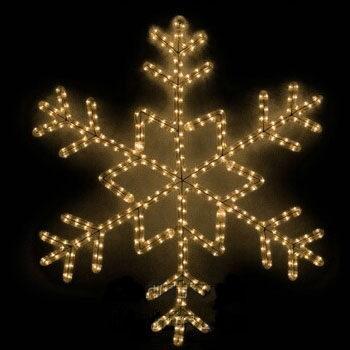 Clear Snowflake