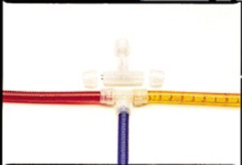 """1/2"""" (13mm) Clear T-Connector"""