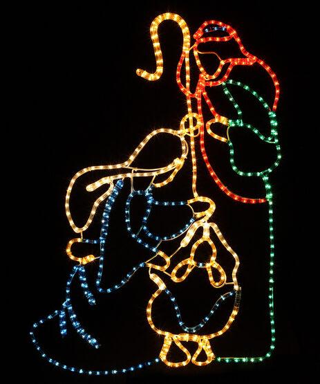 LED Holy Family