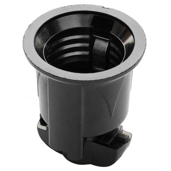 E26 Phenolic Socket, Black