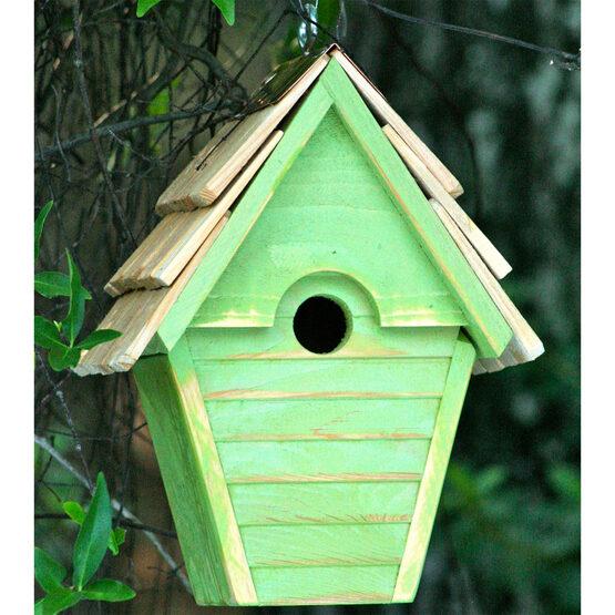 Wren in the Wind Hanging Bird House