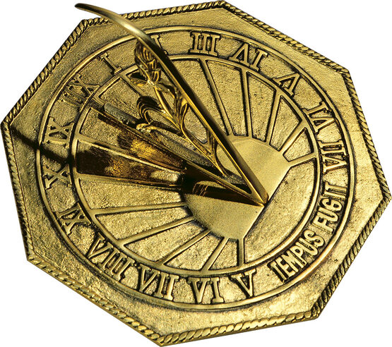 Brass Classic Octagonal Sundial