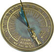 Father Time Garden Sundial