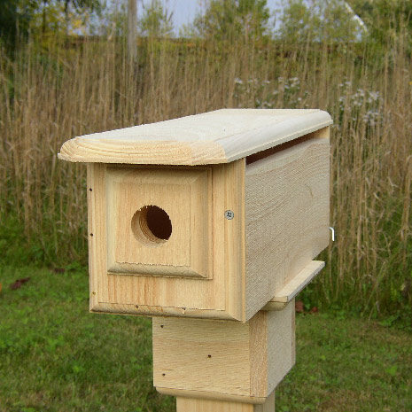 Horizontal Bluebird House
