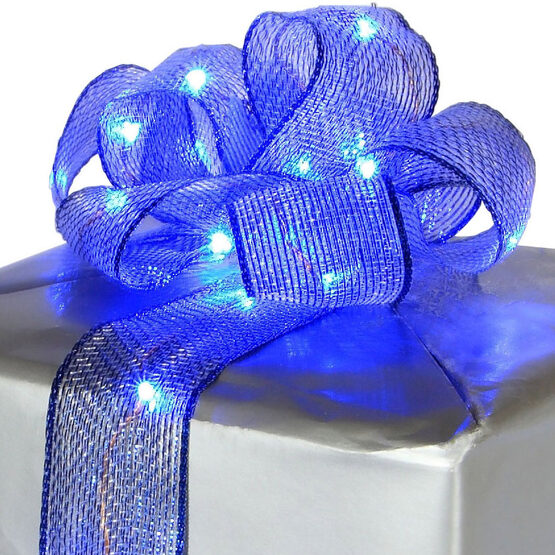 Lighted Blue LED Ribbon