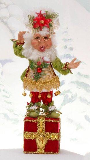 Mark Roberts Sugar & Spice Elf Stocking Holder