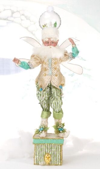 Snowglobe Fairy Christmas Stocking Holder