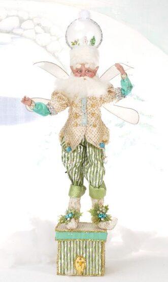 Snowglobe Fairy Christmas Stocking Holder