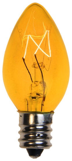 C7 Light Bulb, Yellow
