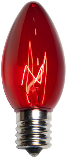 C9 Light Bulb, Red