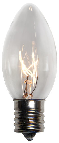 C9 Light Bulb, Clear