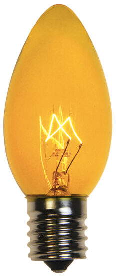 C9 Light Bulb, Yellow