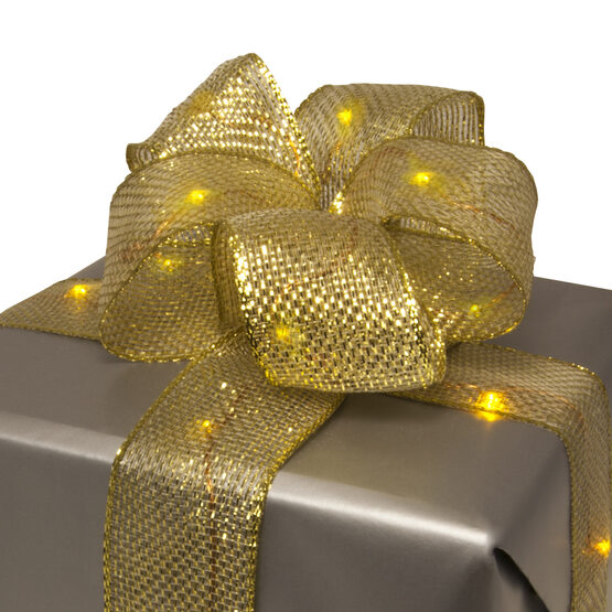 Lighted Gold LED Ribbon