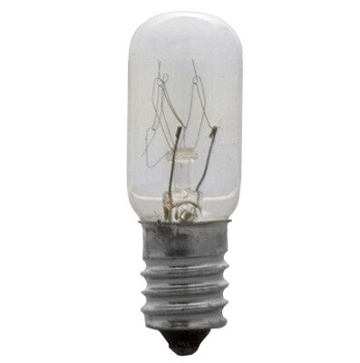T5.5 Patio Light Bulbs, Clear, 60V