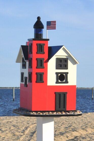 Round Island Lighthouse Bird House