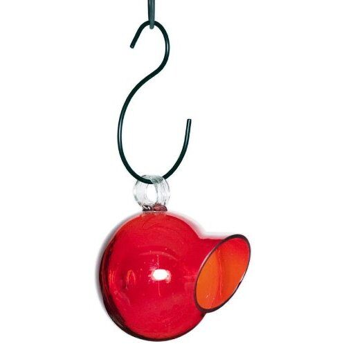 Glass Decorative Song Bird Feeder