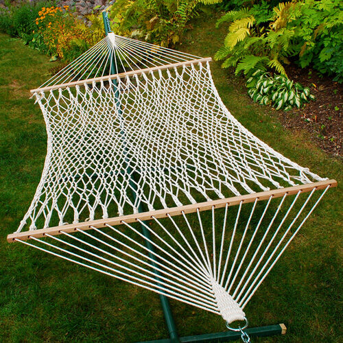 2 Point 13' 2 Person Rope Hammock