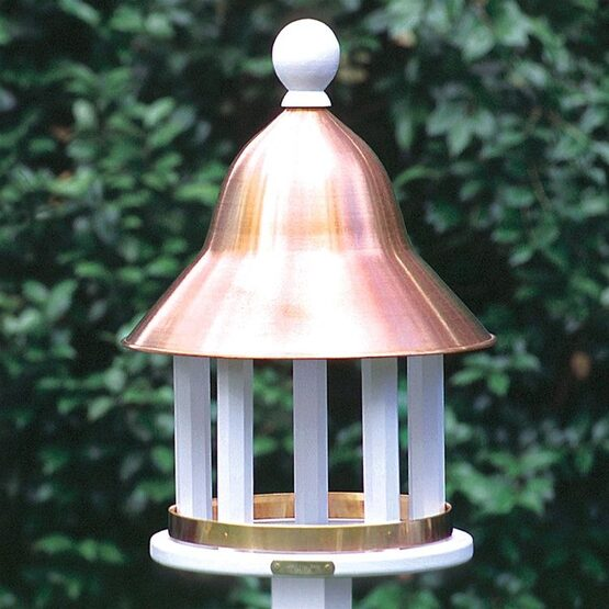 Decorative Vinyl Bell Bird Feeder