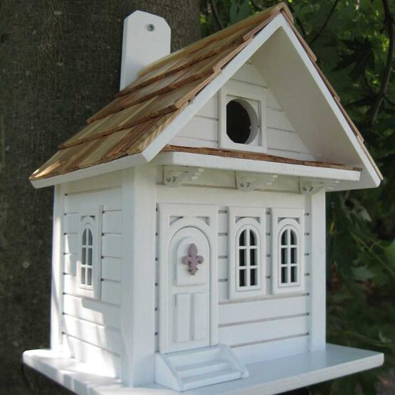 Shotgun Cottage Bird House Yard Envy