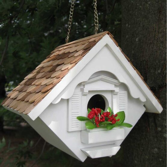 Decorative Little Wren Hanging Bird House