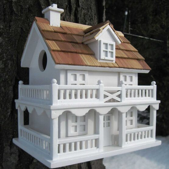 Novelty Cape Cod Bird House Yard Envy