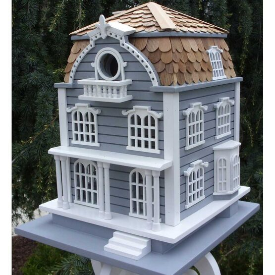 Sag Harbor Bird House with Mansard Roof