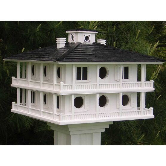 clubhouse bird house for purple martins - yard envy