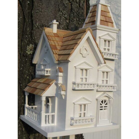 Victorian Manor Bird House with Bracket