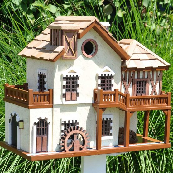 Water Mill Cottage Bird House