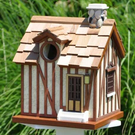 French Guest Cottage Bird House