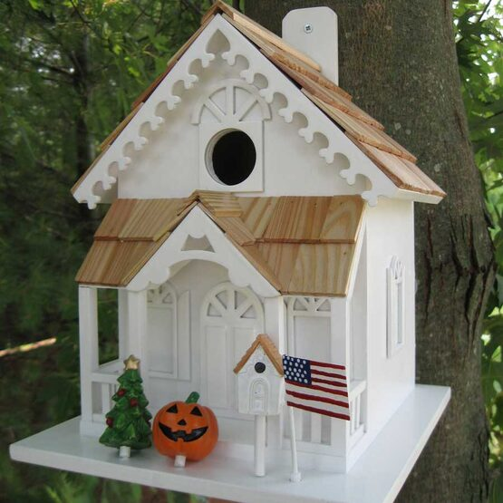 Season's Tweetings Bird House