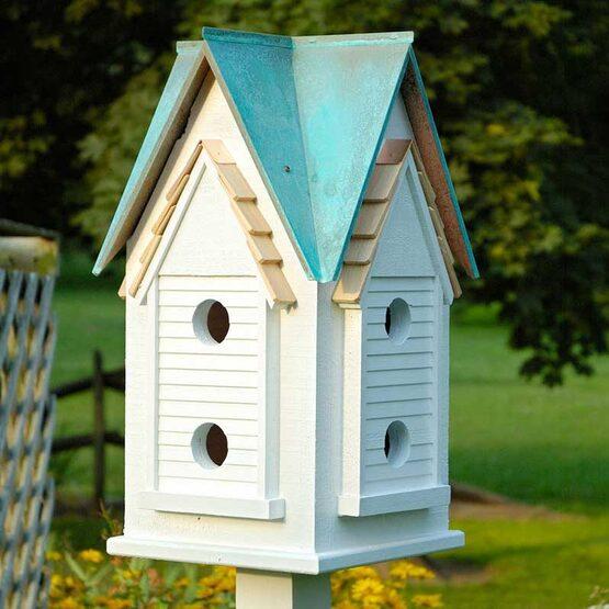 Victorian Mansion Bird House