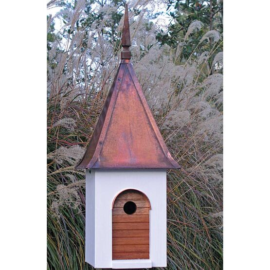 French Villa Bird House