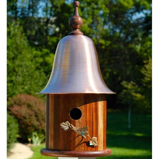 Ivy Copper Top Bird House