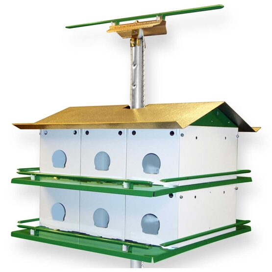Purple Martin Bird House Safety System with Pole