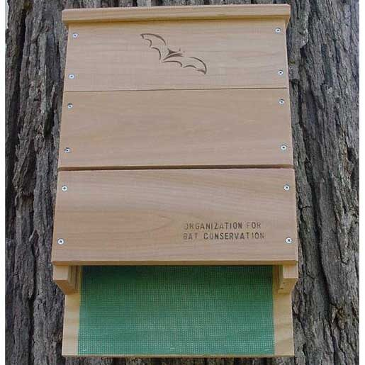 OBC Single Chamber Bat House