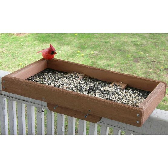 Deck / Post Tray Bird Feeder