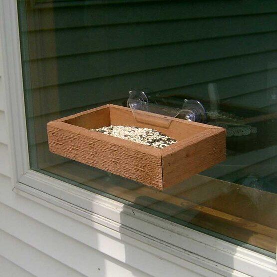 Window Tray Bird Feeder Yard Envy