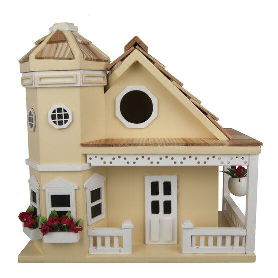 Victorian Flower Cottage Bird House