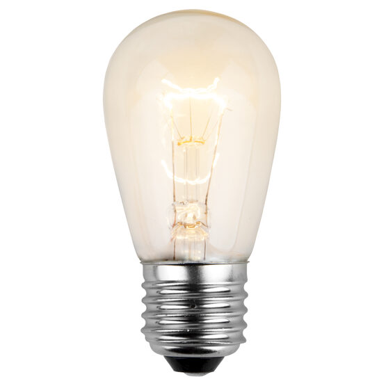 S14 Patio Light Bulbs, Clear