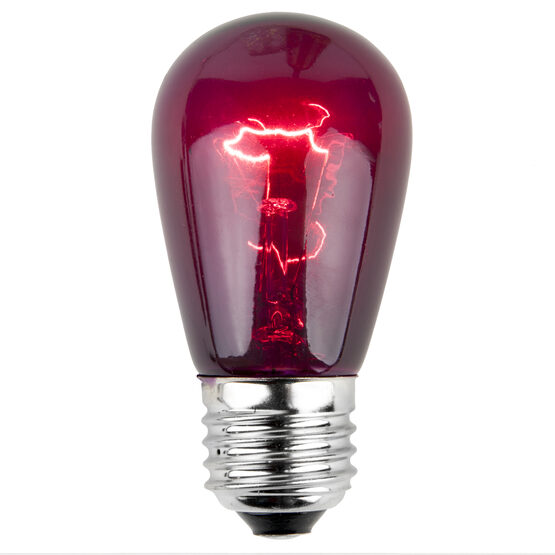 S14 Colored Party Bulbs, Purple