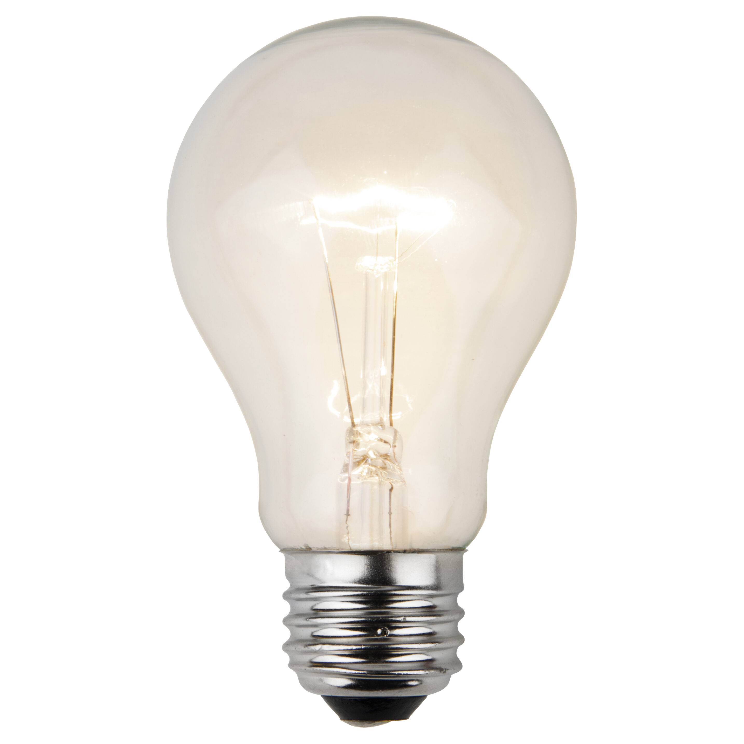 A19 Patio Light Bulbs, Clear